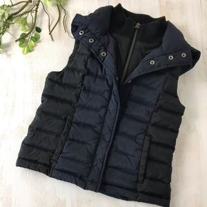 T Down by Theory and Uniqlo Boys Down Vest 7/8